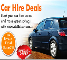 Delhi Car Rent Offer